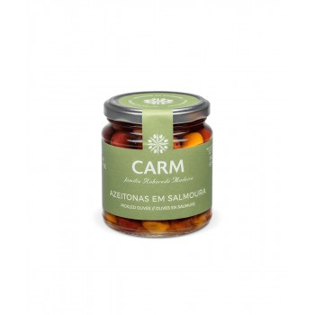 CARM Gourmet Whole Pickled Olives