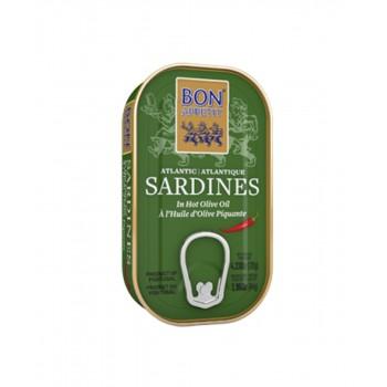 Bon Appetit Sardines in Hot Olive Oil