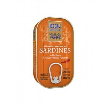 Bon Apetit Sardines in Hot Vegetable Oil